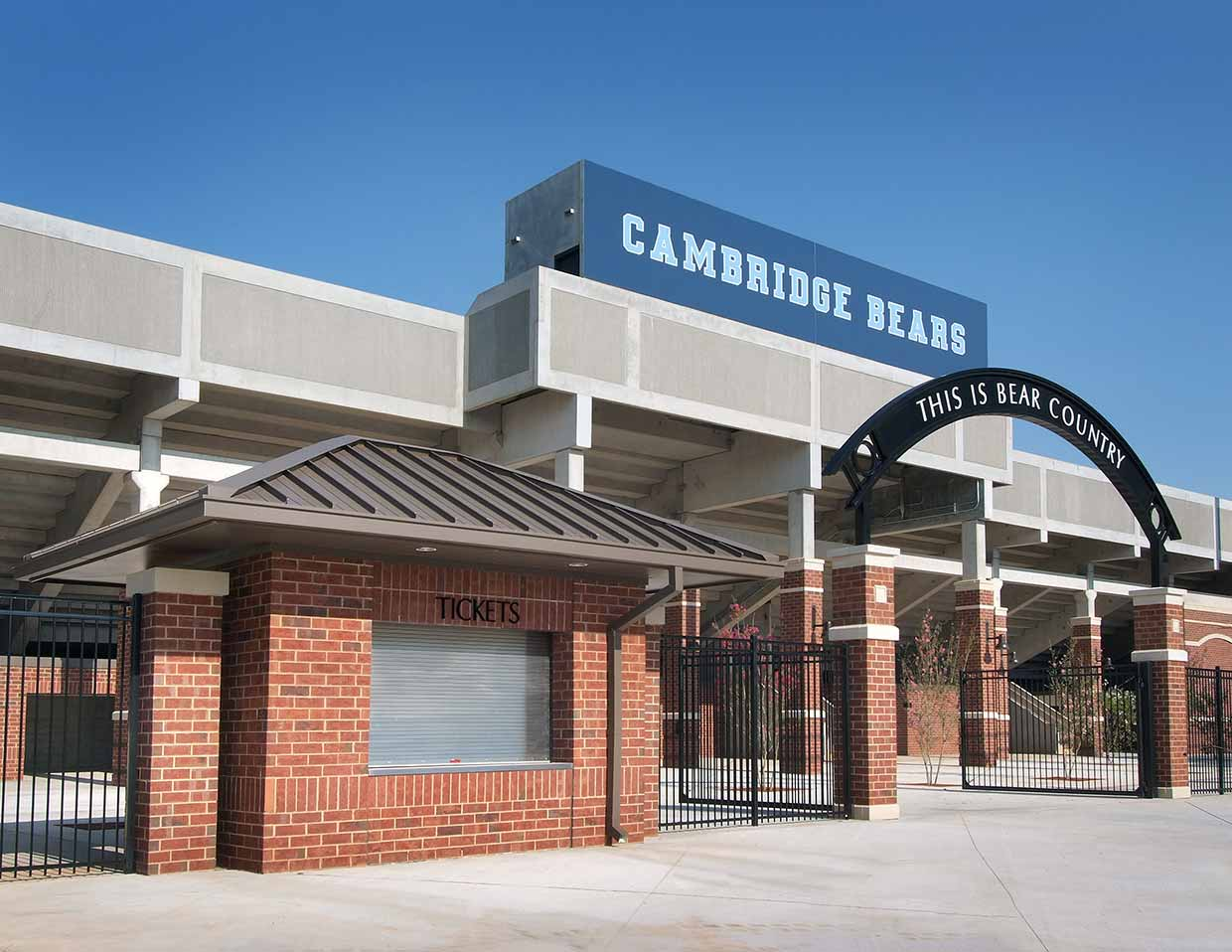 Cambridge High School stadium