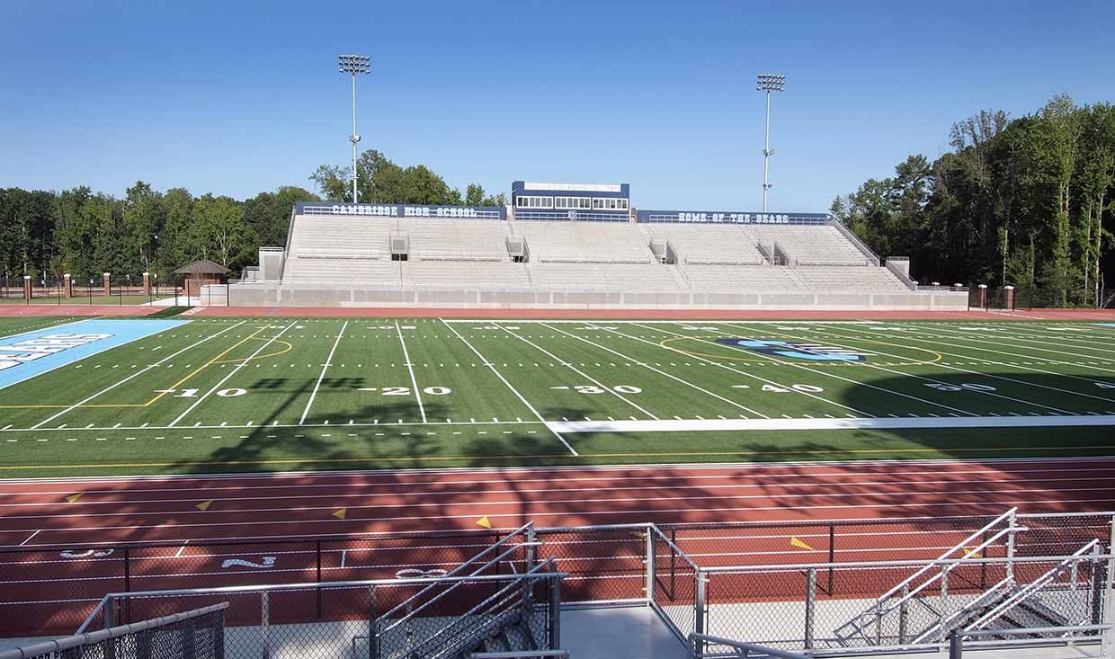 Cambridge High School field