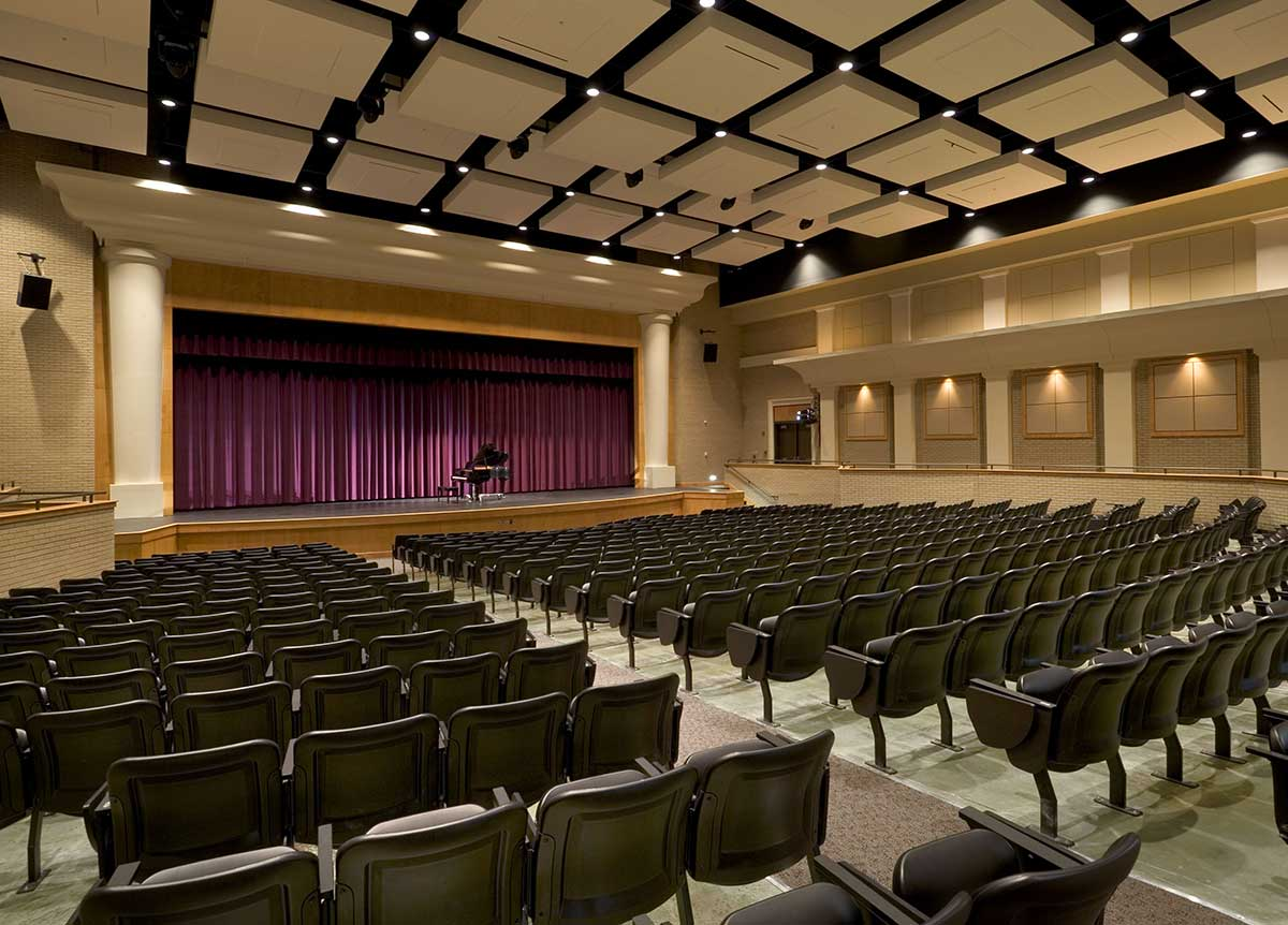 Duluth High School Performing Arts Center auditorium