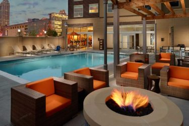 Hyatt House Atlanta poolside