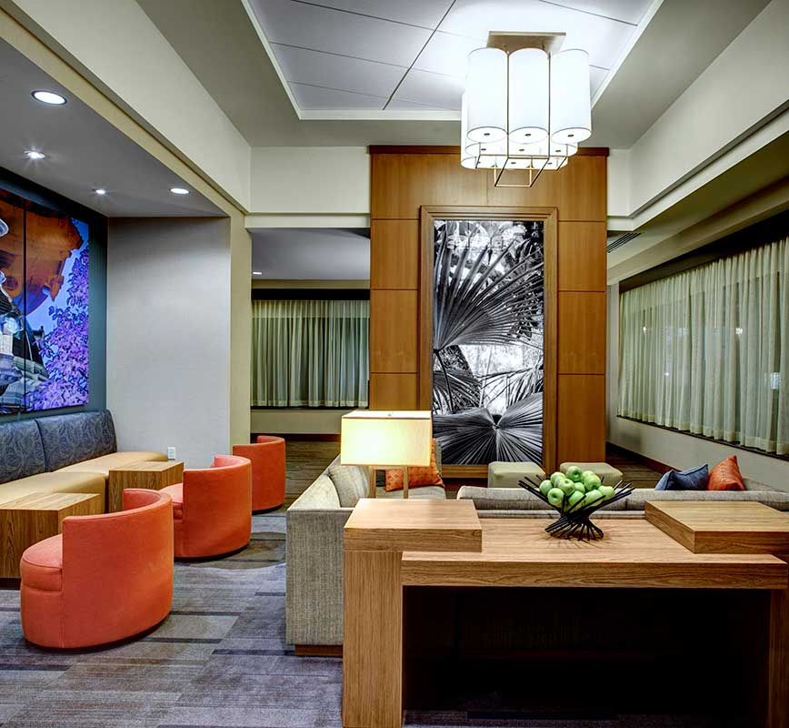 Hyatt House Columbia lounge