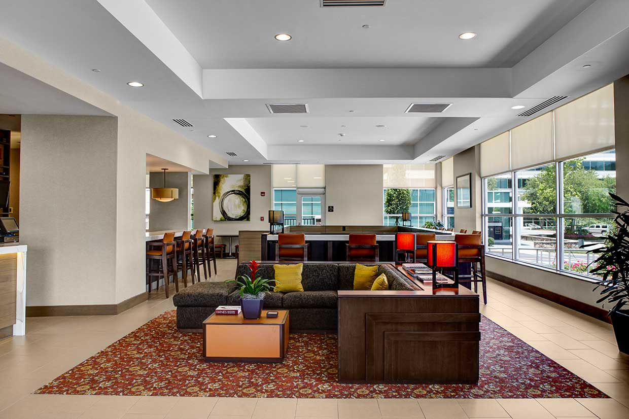 Hyatt House in Overton Park lobby